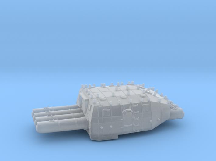 1/144 IJN 610 mm (24in) Type 93 Torpedo Tubes v2 3d printed