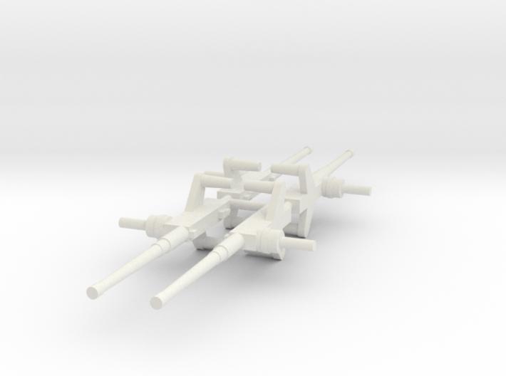 Moray Machine Gun x4 (Complete Set) 3d printed