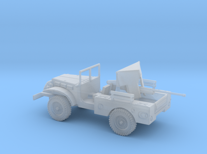 1/87 Scale Dodge WC-55 M6 with 37mm Gun 3d printed
