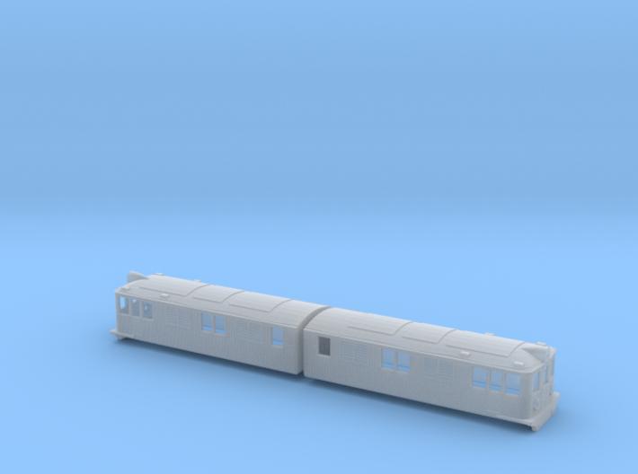 Swedish SJ electric locomotive type Pb - N-scale 3d printed