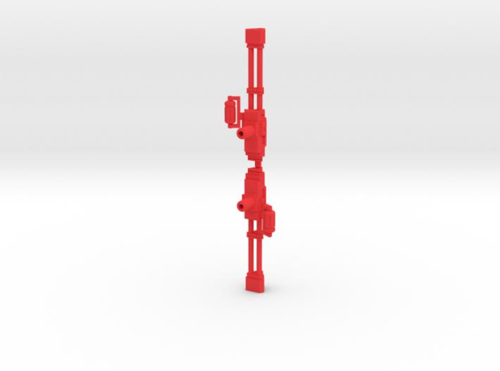 Earth Wars Dual Triangle Guns 3d printed