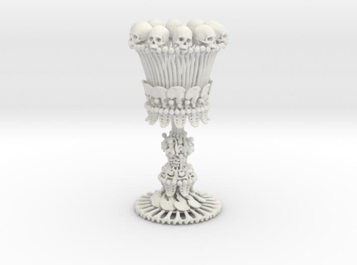 Sedlec Ossuary Bone Chalice 3d printed