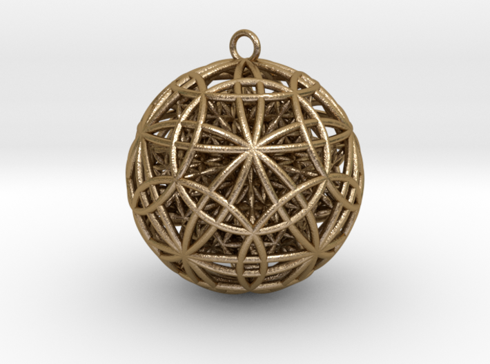 IcosaDodecasphere w/ FOL Stellated Icosahedron 3d printed