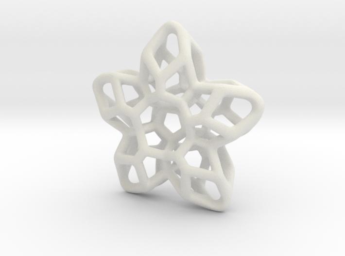 Flower Pendant Type A 3d printed