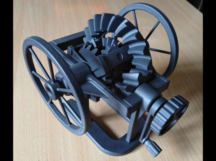 Differential model 3d printed