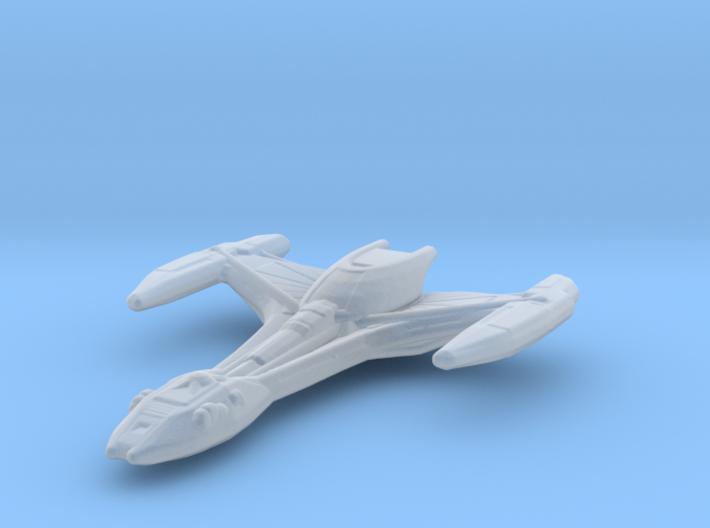 Klingon Raptor 1/7000 3d printed