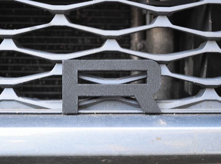 Cupra Lower Grill 'R' 3d printed yes the car needs a wash