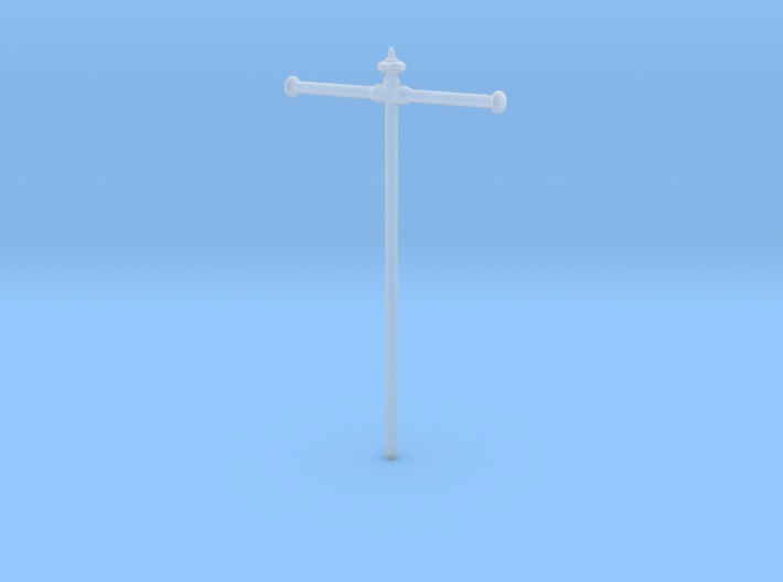 Flags pole for 35mm x 55mm flag 3d printed