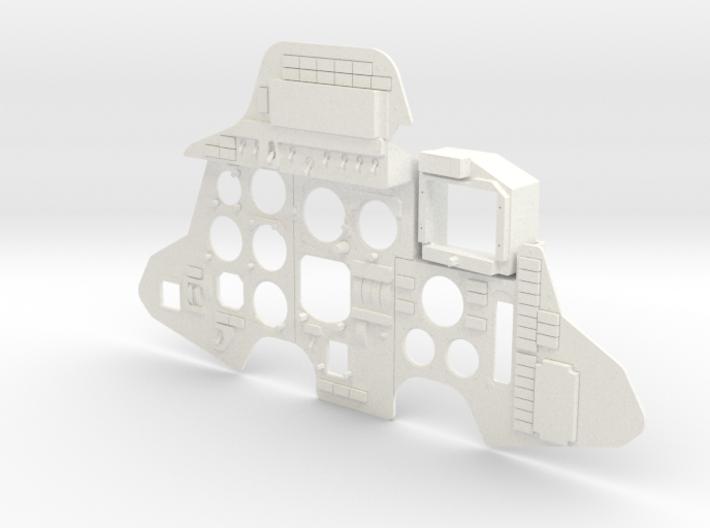 SUKHOI SU27 (CARF MODELS) COCKPIT (K) 3d printed