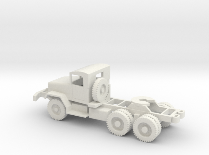 1/72 Scale M48 Tractor 3d printed