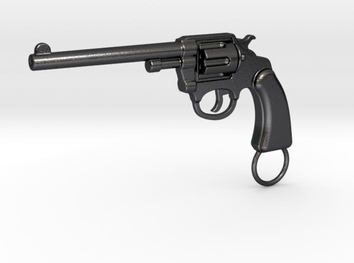 Gun keychain Colt 3d printed
