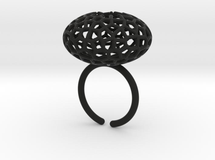 Star Coral Ring sz 6 3d printed
