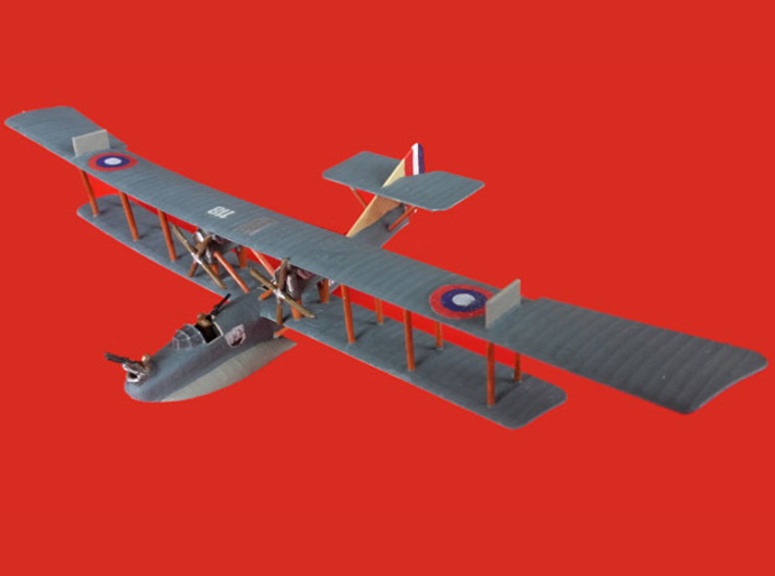 """Curtiss H.12 """"Large America"""" 3d printed Photo and paint job courtesy Marcus Ellinghaus"""