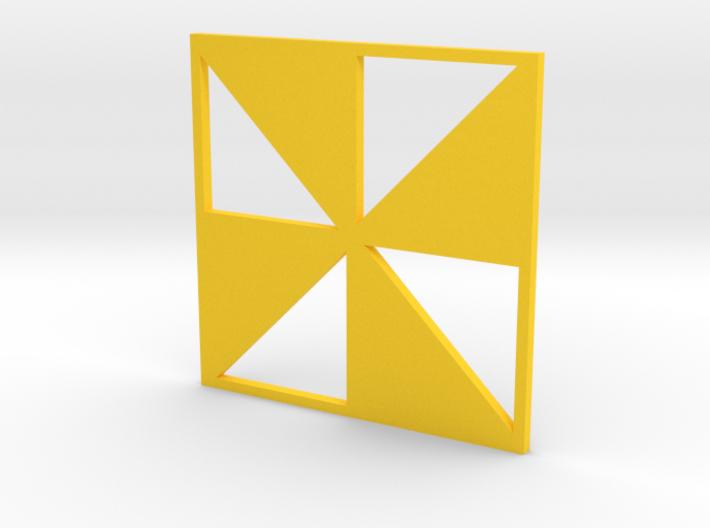 Pinwheel 3d printed