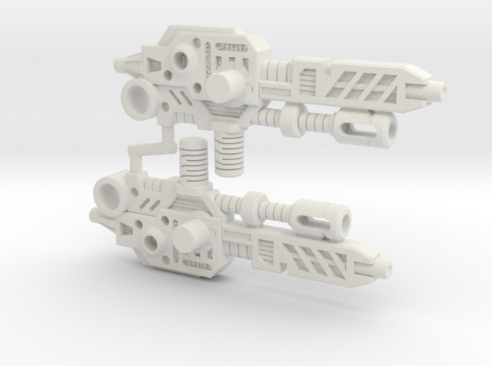 Thunderwing's Cyclone Cannon (3mm, 5mm) 3d printed