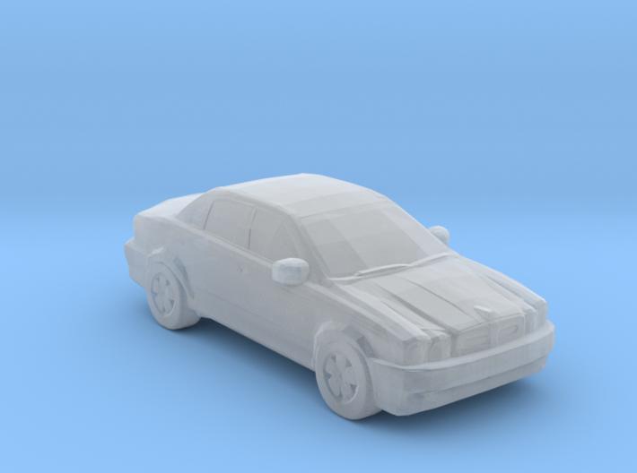 Jaguar X type 3d printed