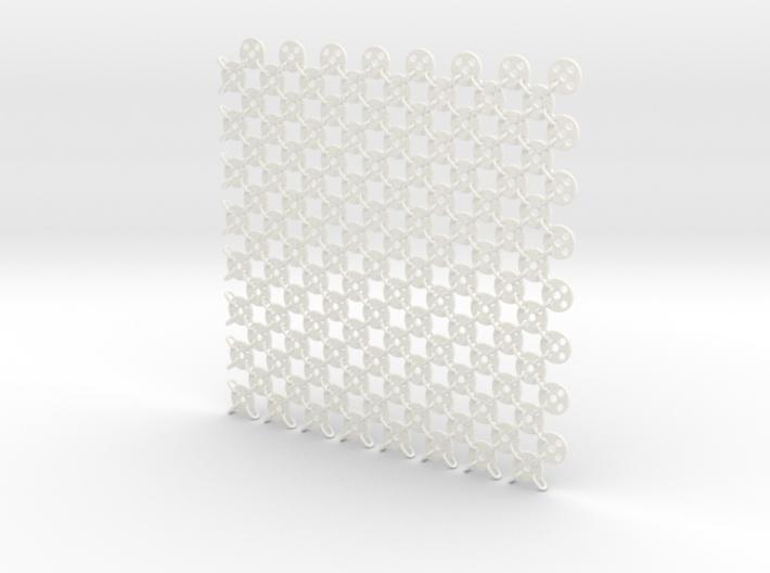 Fabric Sample Base Pattern 3d printed