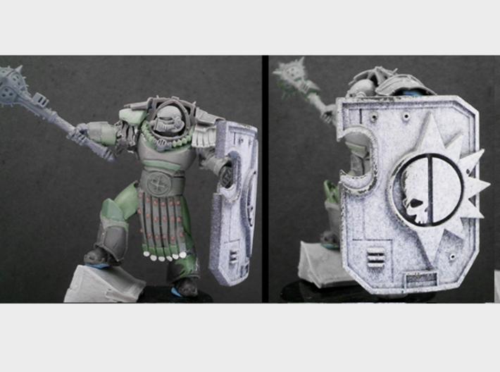 Mastodons - Terminator Wall Shields 3d printed