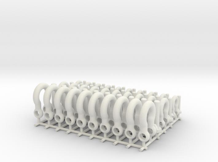 Bolt shackles - 1:25 - 30X 3d printed