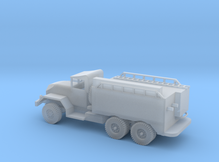 1/100 Scale M54 5 ton Fire Truck no lights 3d printed