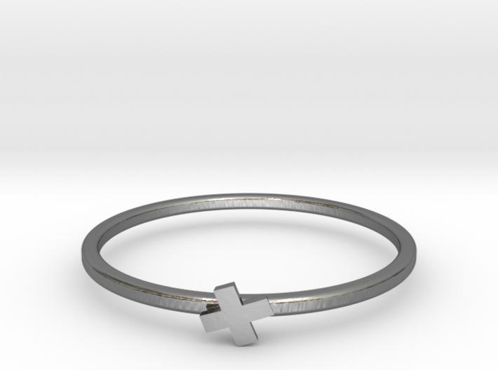 Plus Ring 3d printed