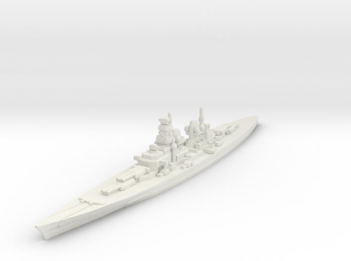 H-39 Battleship 1/1800 3d printed