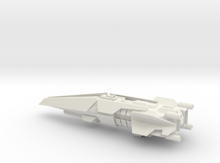 Halo Thanos Class Destroyer 3d printed