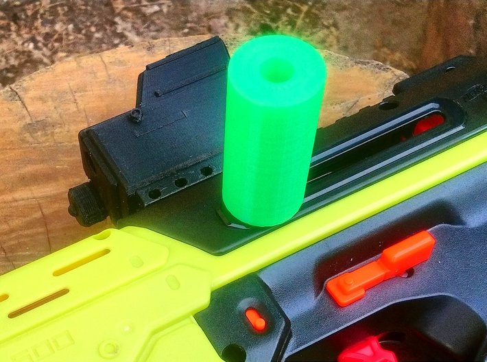 Replacement Priming Handle for Nerf Rival Mercury  3d printed