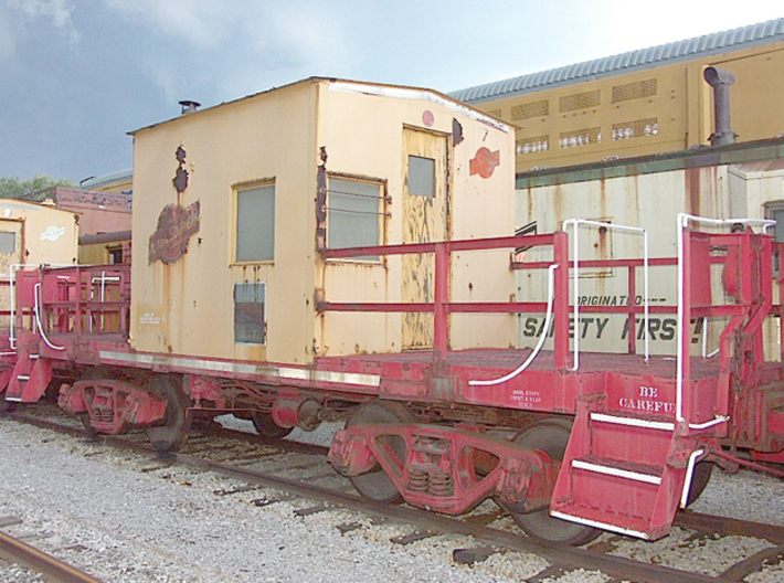 HO A&S Modern Transfer Caboose 1981 3d printed One of the online images I found that shows the actual cars.