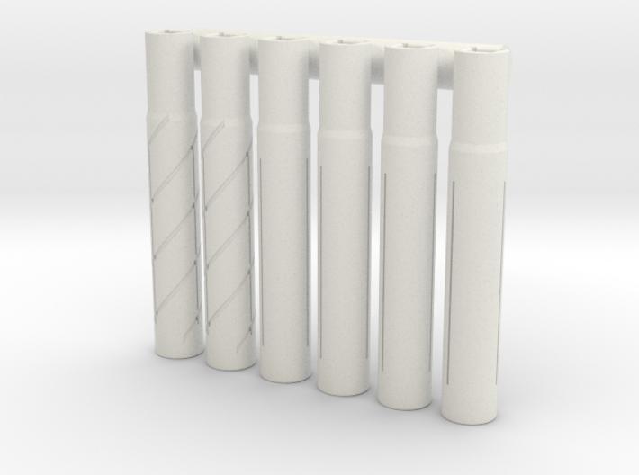 Expandable Barrel Lap (6 Pack) 3d printed