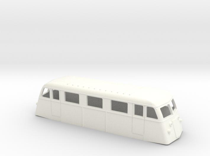 Swedish railcar Yd H0-scale 3d printed