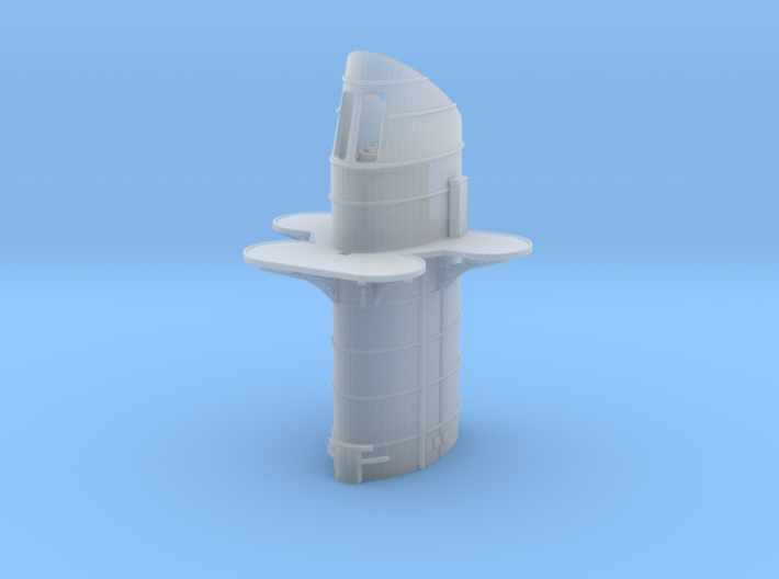 1/350 DKM Lützow Funnel 3d printed