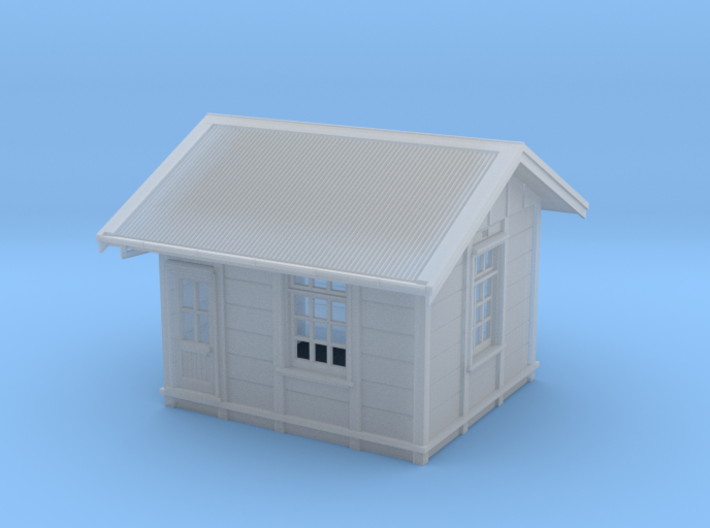 HO Gilmore PC Signal Box - Complete 3d printed