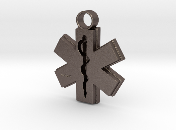 EMS Mommy Pendant 3d printed