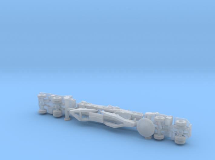 "M65 280mm Gun ""Atomic Annie"" (traveling) 1/200 3d printed"