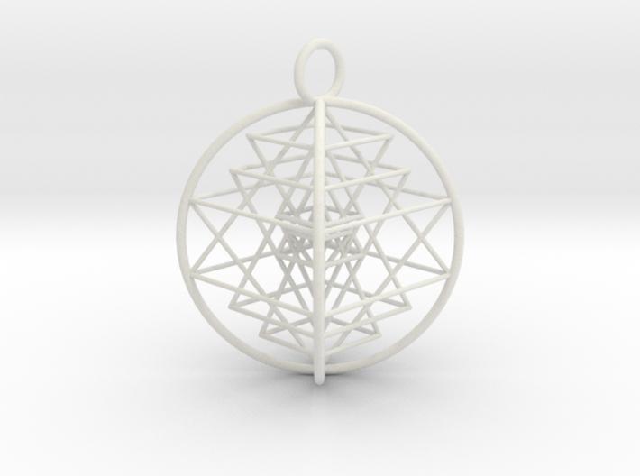 3D Sri Yantra Optimal 3d printed