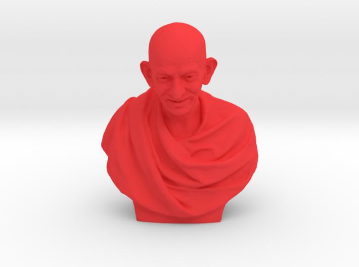 Gandhi bust 3d printed