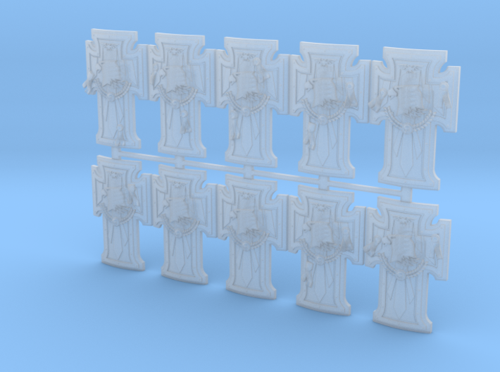 Raptors Terminator Shield V3 Sprue 1 3d printed