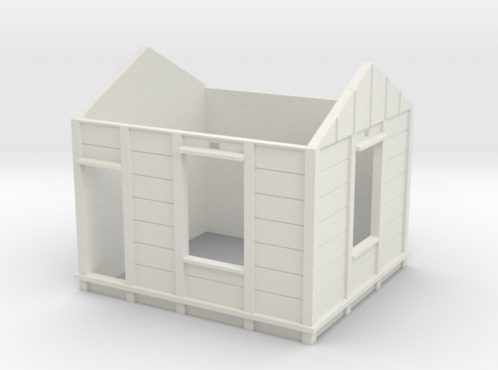 HO Gilmore PC Signal Box Walls 3d printed