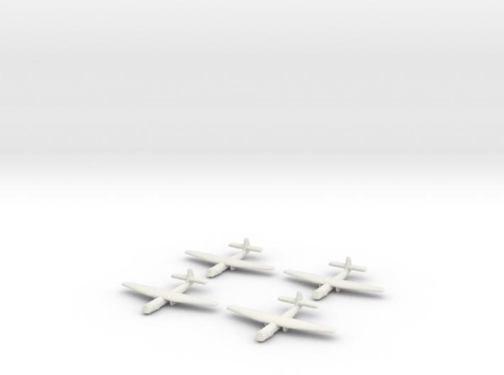 AS.51 Horsa Glider (United Kingdom) -GW39- (Qty. 4 3d printed
