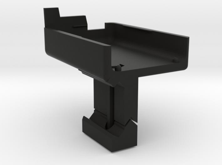 Mobius Camera Picatinny Mount Self Facing 3d printed
