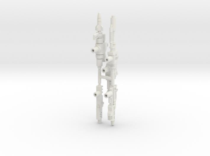 Sideswipe Weapons Set 3d printed