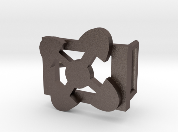 AKOMA NTOSO BELT BUCKLE 3d printed