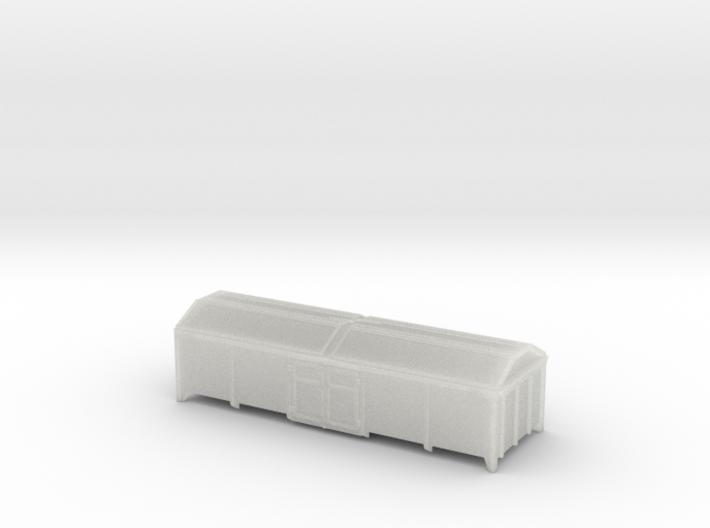 Kmmks 51 / Tms 851 in Spur TT (1:120) 3d printed