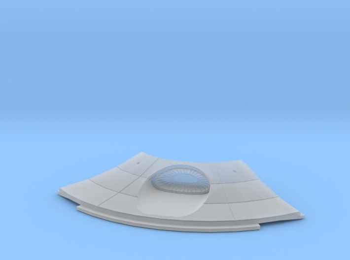 1:537 Reliant Lower Saucer Deflector 3d printed