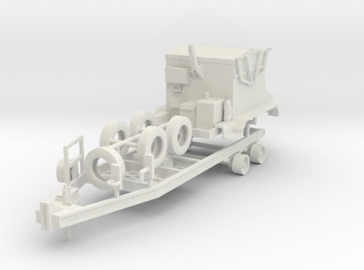 1/50th DOT Asphalt Hot Box 4 ton trailer 3d printed
