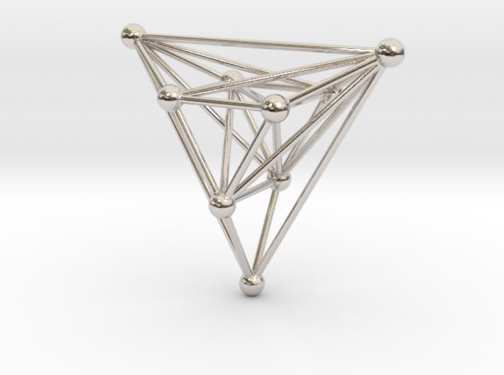 triangular atom array 3d printed