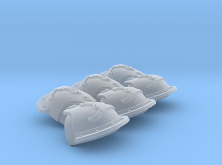 Valoris ptrn. S. Pads: Daedalus Beasts (left) 3d printed