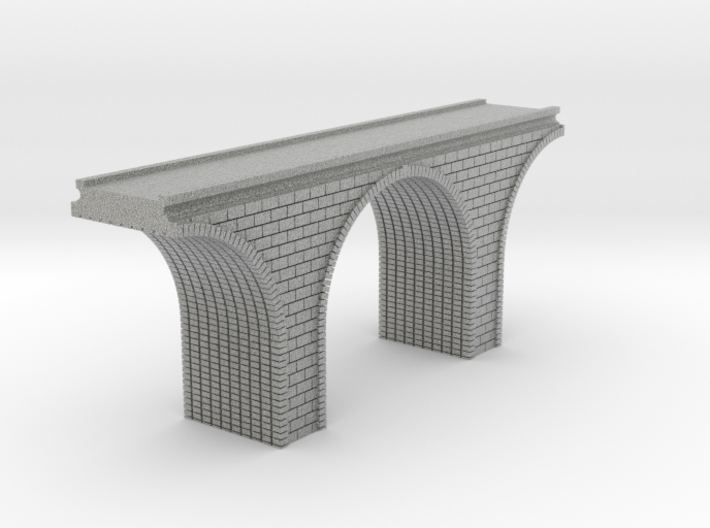 N Scale Arch Bridge Single Track 1:160 3d printed