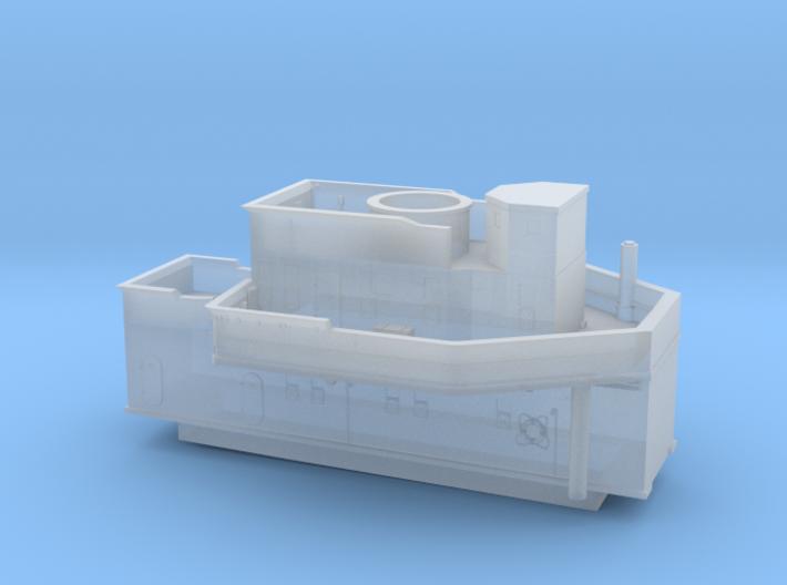 1/700 DKM Narvik-Klasse Z37 Forward Superstructure 3d printed